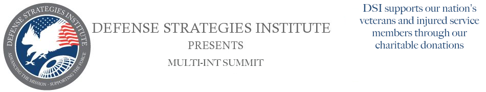 Multi-INT Symposium | DEFENSE STRATEGIES INSTITUTE